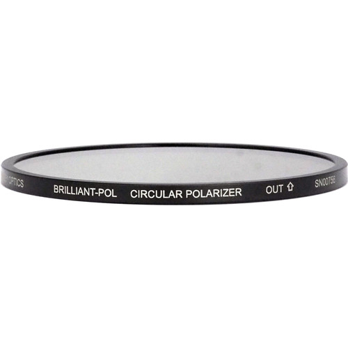 Lindsey Optics 138mm Round Brilliant-Pol Circular Polarizer Filter with Anti-Reflection Coating