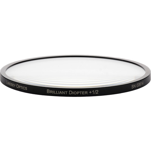 Lindsey Optics 138mm Brilliant Close-Up Diopter +1/2