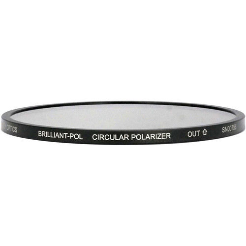 Lindsey Optics 138mm Round Brilliant-Pol Linear Polarizer Filter with Anti-Reflection Coating