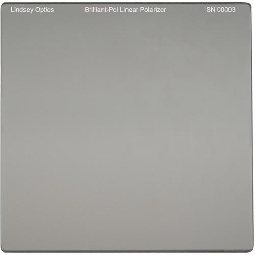 "Lindsey Optics 4 x 4"" Brilliant-Pol Linear Polarizer with Anti-Reflection Coating"