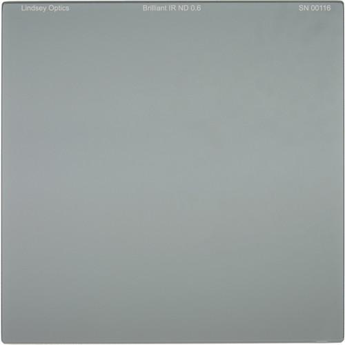 "Lindsey Optics 4 x 4"" Brilliant IR ND 0.6 Filter with Anti-Reflection Coating"