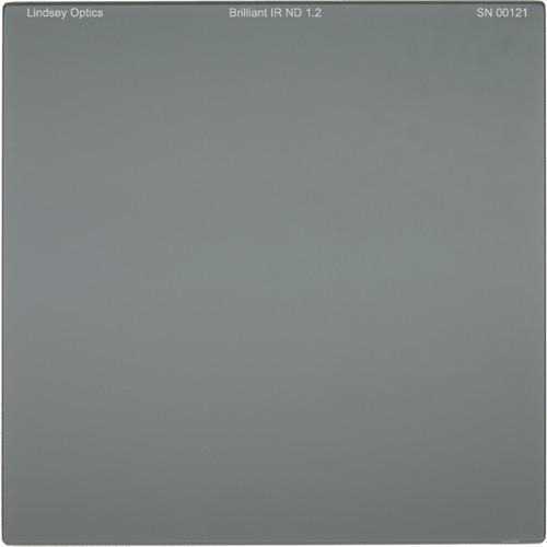 "Lindsey Optics 4 x 4"" Brilliant IR ND 1.2 Filter with Anti-Reflection Coating"