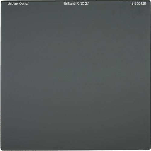 "Lindsey Optics 4 x 4"" Brilliant IR ND 1.5 Filter with Anti-Reflection Coating"