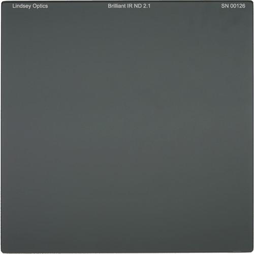 "Lindsey Optics 4 x 4"" Brilliant IR ND 2.1 Filter with Anti-Reflection Coating"