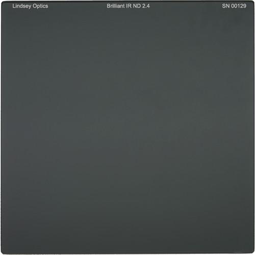"Lindsey Optics 4 x 4"" Brilliant IR ND 2.4 Filter with Anti-Reflection Coating"