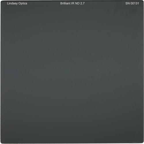 "Lindsey Optics 4 x 4"" Brilliant IR ND 2.7 Filter with Anti-Reflection Coating"