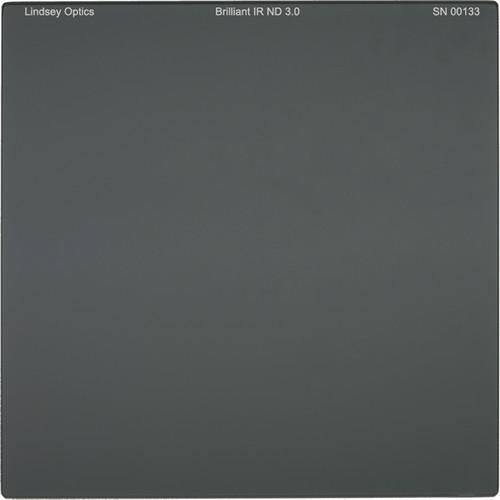 "Lindsey Optics 4 x 4"" Brilliant IR ND 3.0 Filter with Anti-Reflection Coating"
