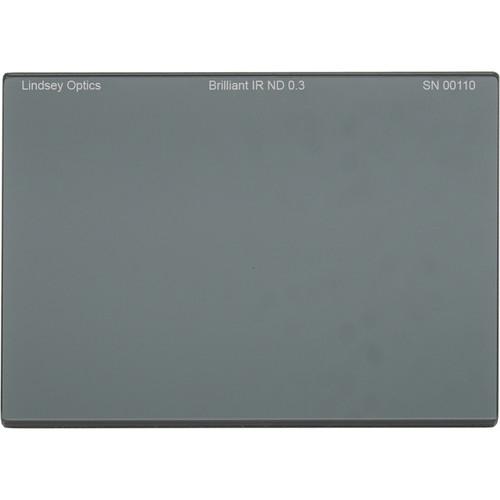 "Lindsey Optics 4 x 5.65"" Brilliant IR ND 0.3 Filter with Anti-Reflection Coating"