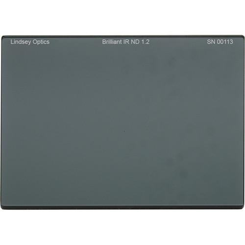 "Lindsey Optics 4 x 5.65"" Brilliant IR ND 1.2 Filter with Anti-Reflection Coating"