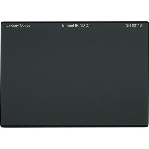 "Lindsey Optics 4 x 5.65"" Brilliant IR ND 2.1 Filter with Anti-Reflection Coating"