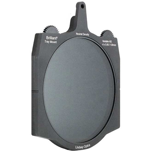 "Lindsey Optics 138mm Brilliant Variable ND Filter for 4 x 5.65"" Cine Matte Boxes"