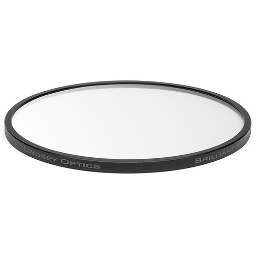 """Lindsey Optics 4.5"""" Round Brilliant Clear Filter with Anti-Reflection Coating"""