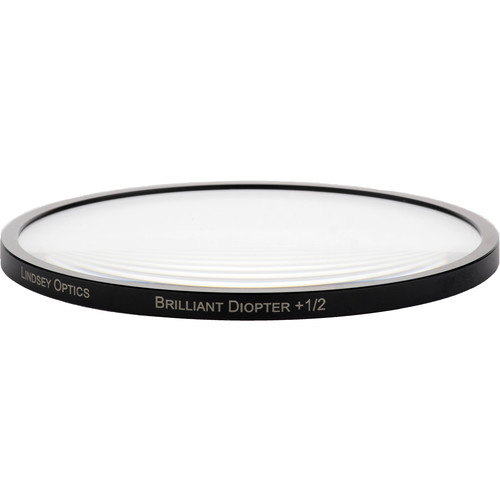 "Lindsey Optics 4.5"" Round Brilliant Close-Up Diopter +1/2"
