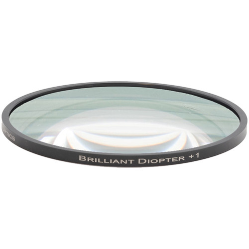 "Lindsey Optics 4.5"" Round Brilliant Close-Up Diopter +1"