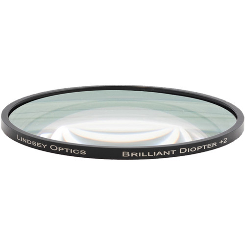"Lindsey Optics 4.5"" Round Brilliant Close-Up Diopter +3"