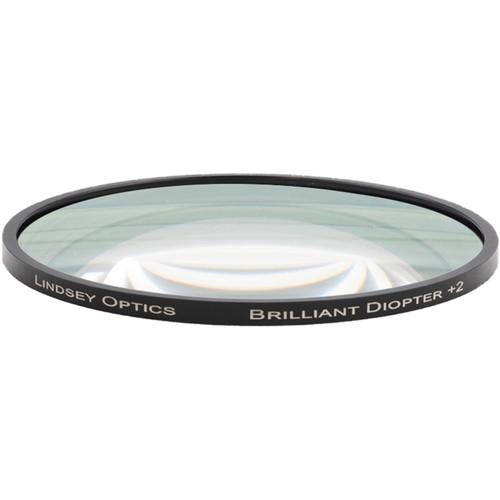 "Lindsey Optics 4.5"" Round Brilliant Close-Up Diopter +3"