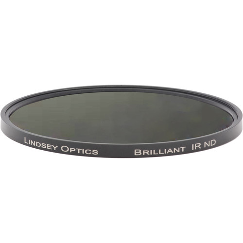 "Lindsey Optics 4.5"" Round Brilliant IR ND 0.3 Filter with Anti-Reflection Coating"