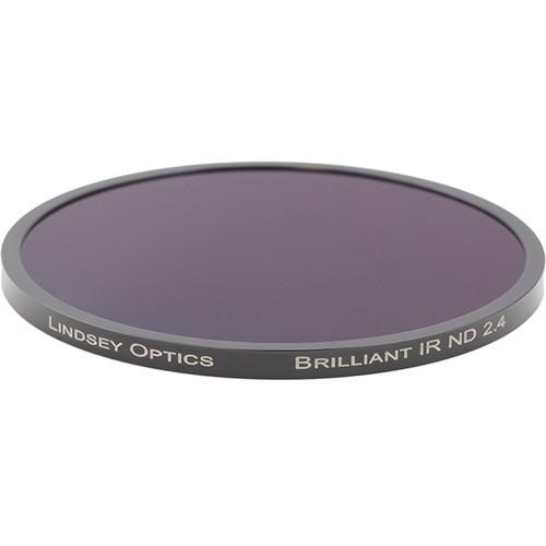 "Lindsey Optics 4.5"" Round Brilliant IR ND 2.4 Filter with Anti-Reflection Coating"