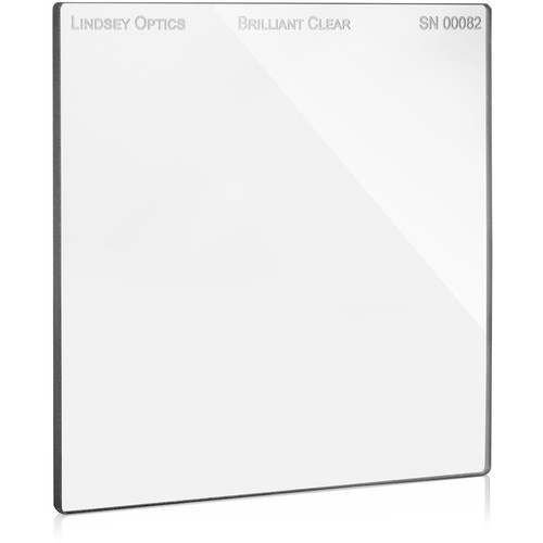 "Lindsey Optics 5.65 x 5.65"" Brilliant Clear Filter with Anti-Reflection Coating"