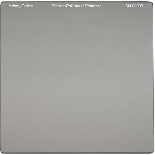 "Lindsey Optics 6.6 x 6.6"" Brilliant-Pol Linear Polarizer with Anti-Reflection Coating"