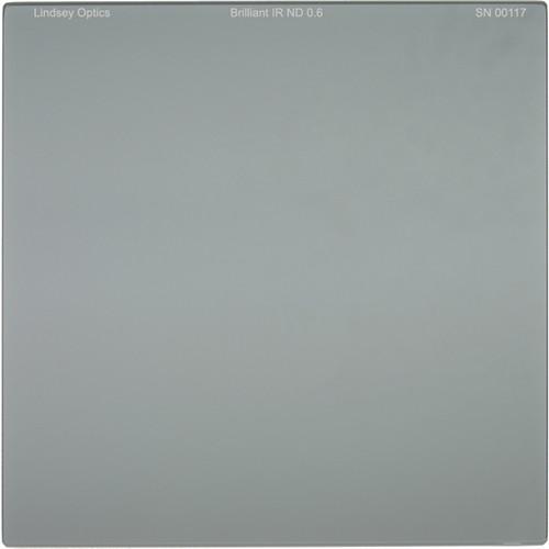 "Lindsey Optics 6.6 x 6.6"" Brilliant IR ND 0.6 Filter with Anti-Reflection Coating"