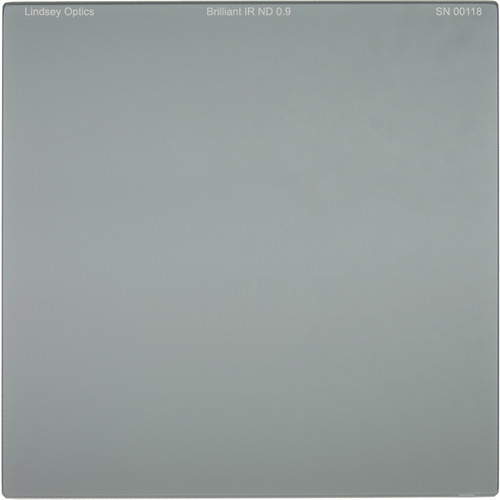 "Lindsey Optics 6.6 x 6.6"" Brilliant IR ND 0.9 Filter with Anti-Reflection Coating"