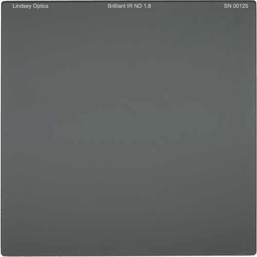 "Lindsey Optics 6.6 x 6.6"" Brilliant IR ND 1.8 Filter with Anti-Reflection Coating"
