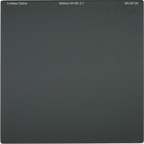 "Lindsey Optics 6.6 x 6.6"" Brilliant IR ND 2.7 Filter with Anti-Reflection Coating"