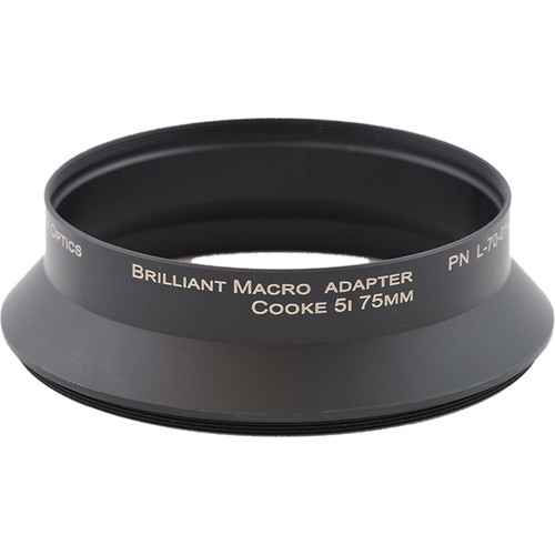 Lindsey Optics Adapter for Brilliant Lens (M105 x 0.75 x 31.5L)