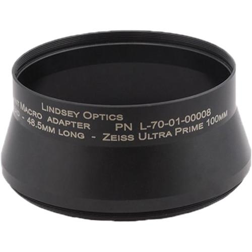 Lindsey Optics Brilliant Macro Lens Adapter M100 X 0.75 X 48.5L