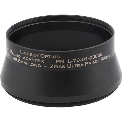 Lindsey Optics Adapter for Brilliant Lens (M100 x 0.75 x 48.5L)