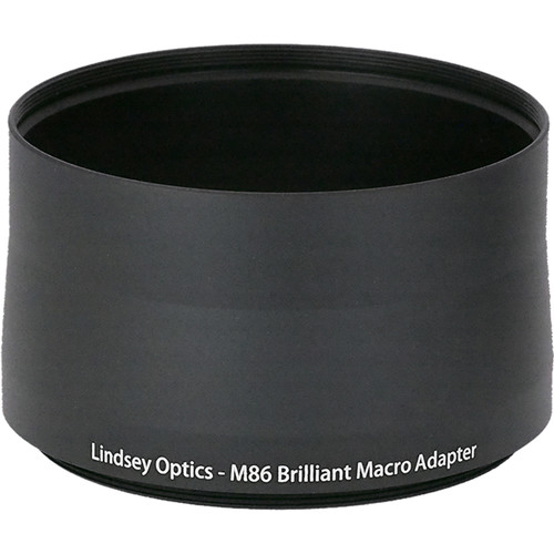 Lindsey Optics Adapter for Brilliant Lens (M77 x 0.75 x 56L)