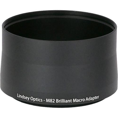 Lindsey Optics Adapter for Brilliant Lens (M82 x 0.75 x 56L)