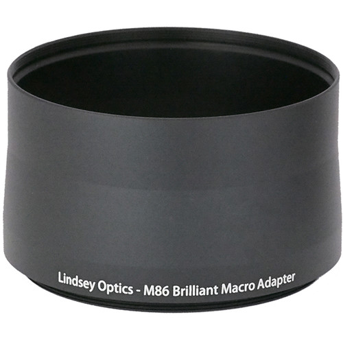 Lindsey Optics Adapter for Brilliant Lens (M86 x 0.75 x 56L)