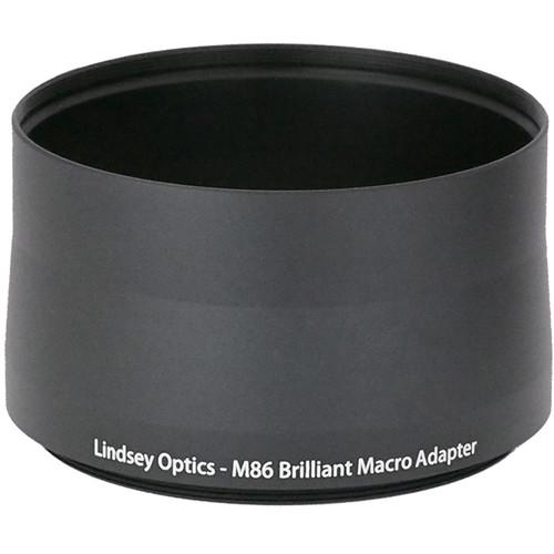 Lindsey Optics Adapter for Brilliant Lens (M86 x 0.75 x 56L)