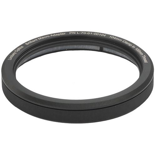 Lindsey Optics Brilliant Compression Ring Clamp (104mm Barrel to M100 x 0.75 Female)