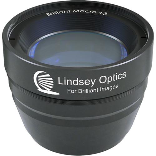 Lindsey Optics Brilliant Macro Attachment Lens +3