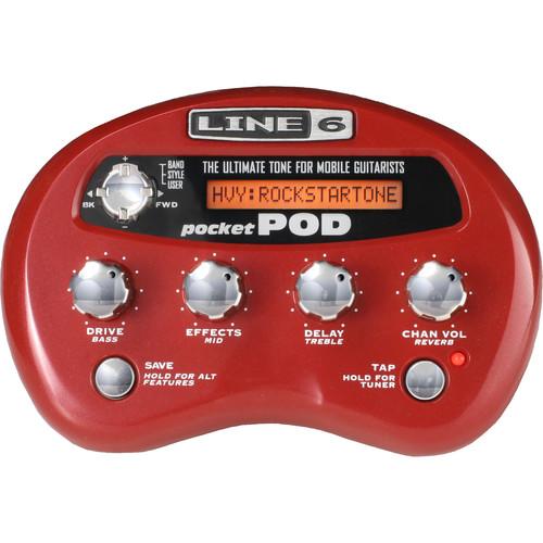 Line 6 Pocket Pod Effects Unit