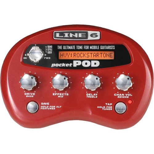 Line 6 Pocket Pod Effects Unit