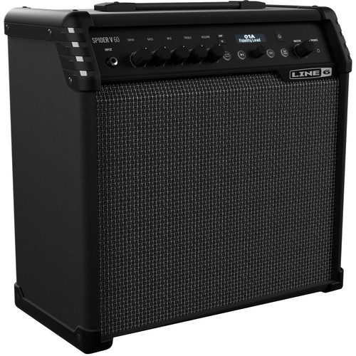 "Line 6 Spider V 60 1x10"" Modeling Combo Amplifier for Electric Guitars"