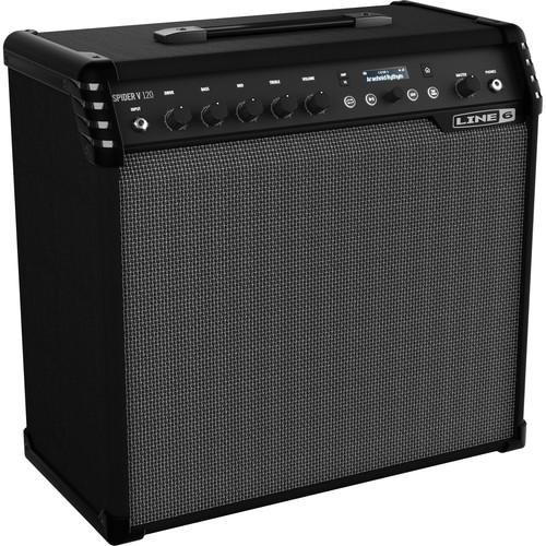 "Line 6 Spider V 120 1x12"" Modeling Combo Amplifier for Electric Guitars"