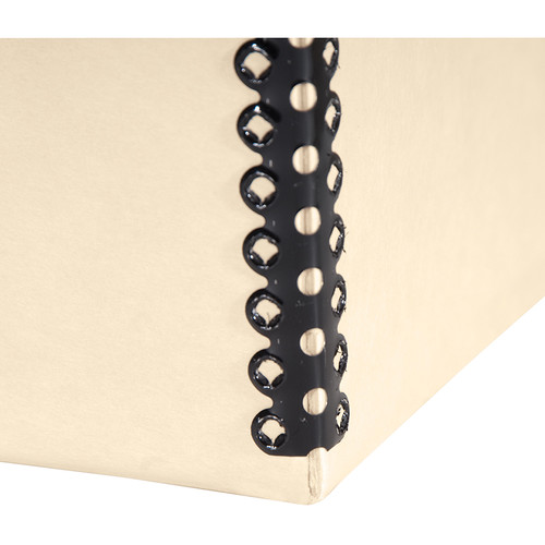 "Lineco Drop-Front Archival Box (13.5 x 19.5 x 1.5"", Tan)"