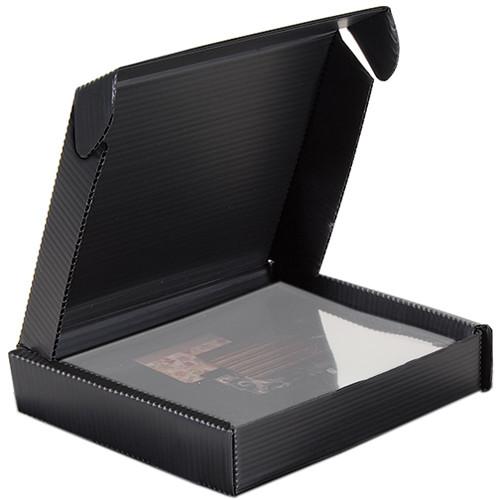 "Lineco Polypropylene Clamshell Storage Box for 8 x 10"" Photos (1.5"" Inner Depth)"