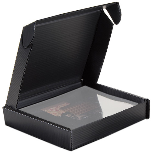 "Lineco Polypropylene Clamshell Storage Box for 9 x 12"" Photos (1.5"" Inner Depth)"