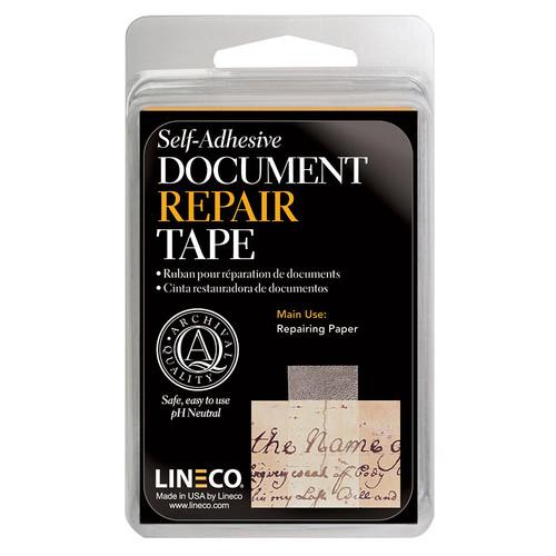"""Lineco Document Repair Tape (1"""" x 12')"""
