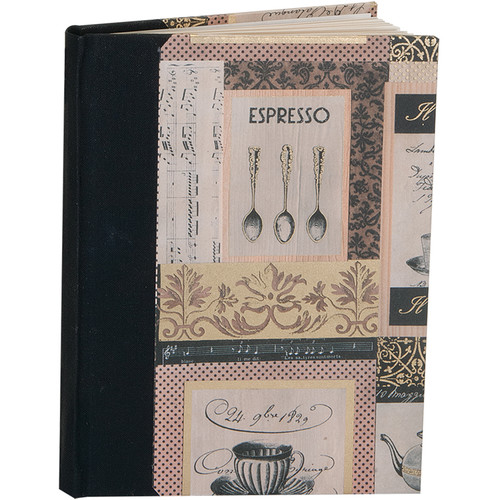 "Lineco Blank Book Kit with Ivory Pages (Caffe Italiano Cover, 5.25 x 7.25"")"