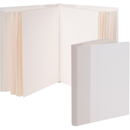 """Lineco Blank Book Kit with Ivory Pages (Blank Cover, 5.25 x 7.25"""")"""