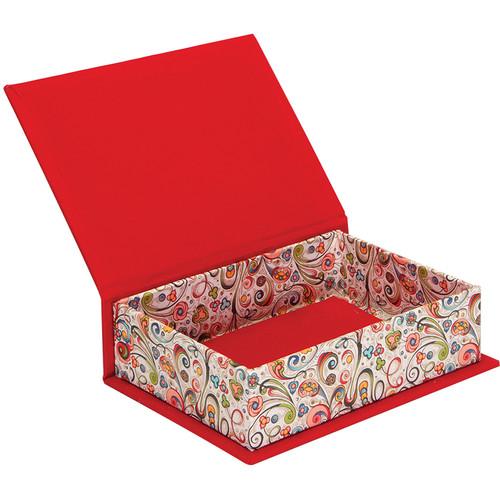 """Lineco Box with Lid Kit (Art-Nouveau Flowers, 5.25 x 7.25"""")"""