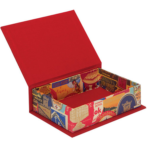 """Lineco Box with Lid Kit (Travel Stickers, 5.25 x 7.25"""")"""