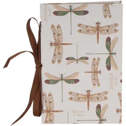 "Lineco Tibetan Books Kit (Set of 2, Dragonflies Cover, 4.25 x 6.5"" & 5 x 7.5"")"